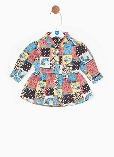 BG Baby BG Baby Çok Renkli Elbise Renkli